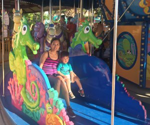 Grover's Round-Up is great for toddlers at Sea World San Antonio.