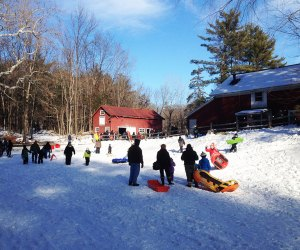 Celebrate the winter season this weekend at the annual Winter Fest at Hackett Hill Park. Photo courtesy of Hyde Park Recreation