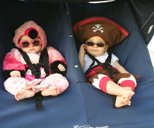 Kids' Halloween Costume Ideas: Pirate and Flamingo