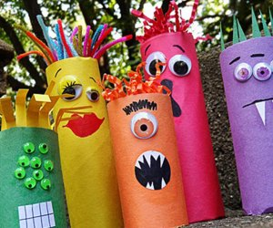 halloween ghouls crafts trick or treating alternatives