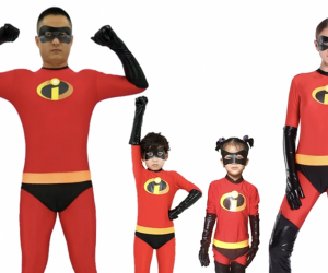 Kids' Halloween Costume Ideas:  The Incredibles