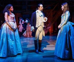 Hamilton is a smash hit on Broadway