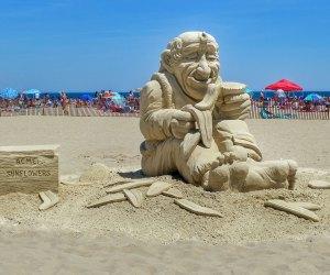 Amazing sand creations. Photo courtesy of Hampton Beach Sand Sculpting Classic