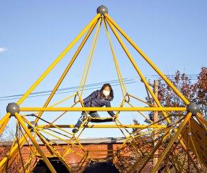 Philly playgrounds have been upgraded thanks to Rebuild Philadelphia. Photo courtesy of Rebuild Philadelphia