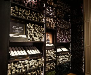 Wands at Harry Potter New York