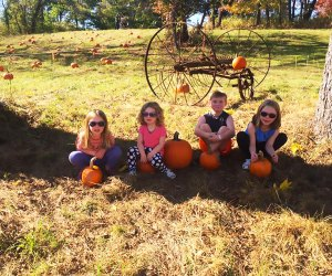 Head to the Heritage of West Nyack Fall Festival on Sunday for living-history demos, a magic show, pumpkins, and much more. Photo courtesy of the festival