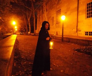 A stop on the Ghost Tour of Philadelphia. Photo courtesy of Ghost Tour of Philadelphia