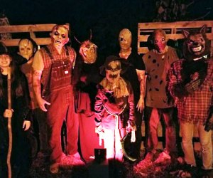 Haunted Drive offers three acres of drive-through Halloween scares.