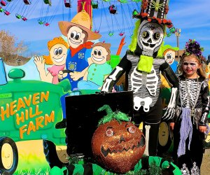 Enjoy more than 40 pumpkin- and fall-themed activities at the Pumpkin Festival At Heaven Hill Farm. Photo courtesy of the farm