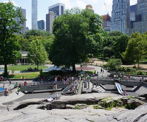 Central Park's Heckscher Playground is one of our favorites in all of NYC.