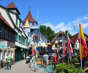 Step into a Bavarian village without ever having to leave the state when you visit Helen, Georgia.