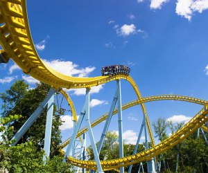 A number of nearby theme parks, such as Hershey Park, are now welcoming visitors. Photo courtesy the theme park