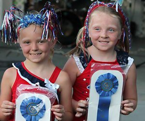 Decorate your bike, and you just might win an award at the the Highland Falls Fourth of July Parade. Photo courtesy of Highland Falls Fourth of July Committee