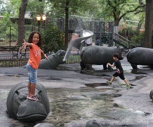 Hippo Playground is Riverside Park's top destination when it comes to playtime. Photo by Jody Mercier