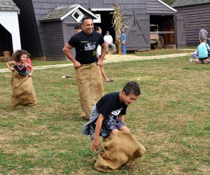 The old-fashioned fall festival at Longstreet Farm is reminiscent of the 1890s. Photo courtesy of the farm