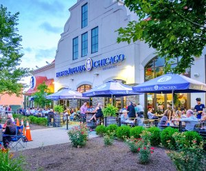There's plenty of seating for families at Hofbrauhaus Chicago.