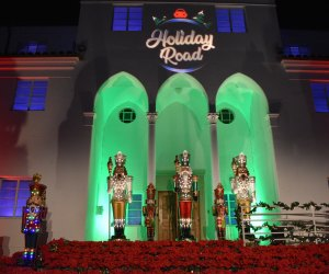 Holiday Road Christmas lights at King Gillette Ranch, Calabasas