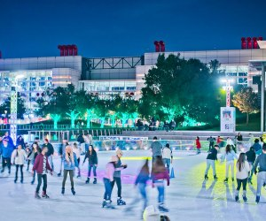 Skate on Ice at Discovery Green this holiday season.