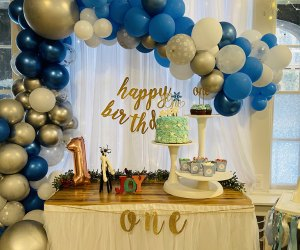 House of Playful Soul room decorated for birthday party