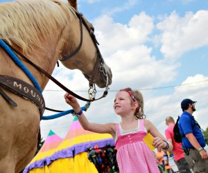 Explore the Wisconsin State Fair for classic family fun in Milwaukee. Photo courtesy of the fair.