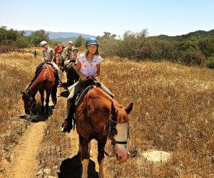 Riding horses with Ojai Valley Trailriding Company