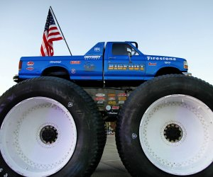 The world's tallest monster truck is coming to Gillette.