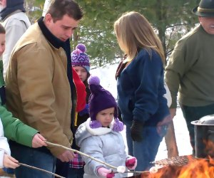 The Hudson Valley Rail Trail Winterfest in Highland is packed with family-friendly activities. Photo courtesy of the event