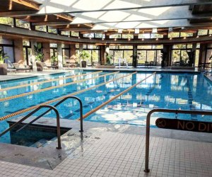 Hyatt Lodge Oak Brook Where To Go Swimming in Chicago With Kids this Winter