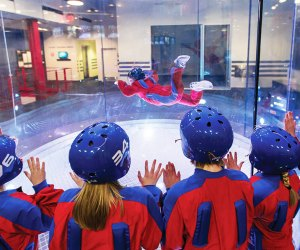 Take flight at iFly, one of many family-friendly attractions in the action-packed Ridge Hill complex. Photo courtesy of the venue