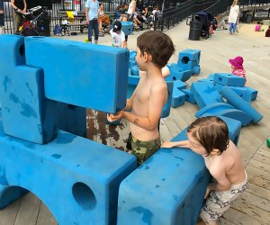 Imagination Playground was designed to be accessible, immersive, and interactive