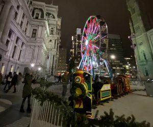 Hop on the holiday express at City Hall