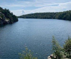 Lake Minnewaska draws you into the stunning preserve that bears its name.