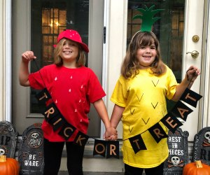 These clever DIY Halloween costumes for kids don't require a PhD in crafting.
