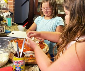 Serve up some fun with a DIY pizza party. Photo by the author