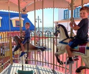 Carousel at Pleasure Pier Galveston Texas