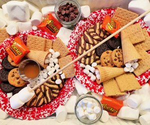 Irresistible Dessert Board Recipes for Kids : S'mores Board