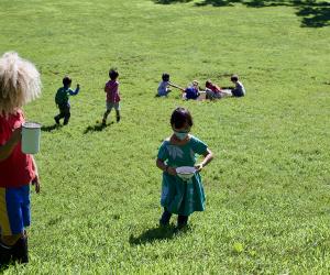 Explore Prospect Park with Adams and Hack Studio's nature preschool
