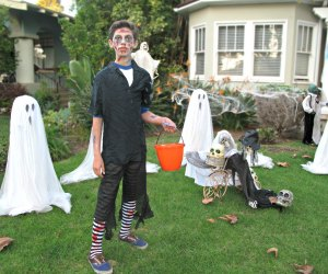 Get ting ghoulish trick-or-treating in Los Angeles
