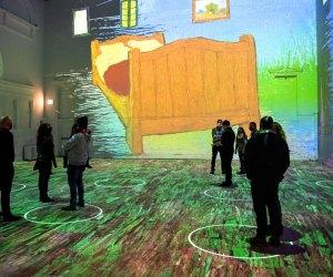 Immersive Van Gogh Exhibit Is Coming To LA: Step inside Van Gogh's The Bedroom