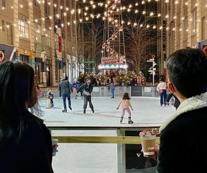 Dress warm for an alfresco skate at Industry City.