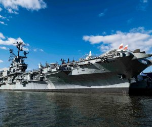 Step aboard the Intrepid and back in time when the museum reopens to the public Thursday, March 25. Photo courtesy of the Intrepid