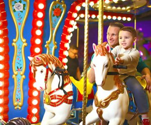 Dads eat and ride free at iPlay on Father's Day. Photo courtesy of iPlay America