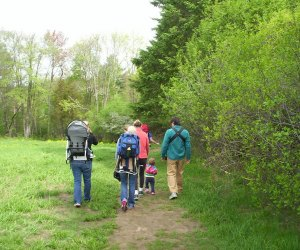 Hiking along the Ipswich River is a favorite family activity. Photo courtesy of Mass Audubon Ipswich River Wildlife Sanctuary