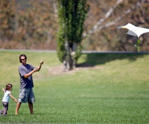 Fly a kite to the highest height at Irvine Regional Park. Photo courtesy of OC Parks