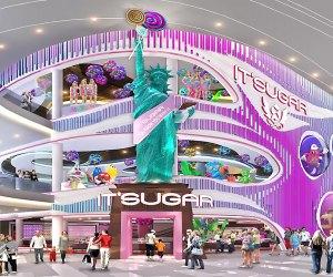 IT'SUGAR's three-floor candy store opened Saturday in the American Dream mega mall. Photo courtesy of IT'SUGAR