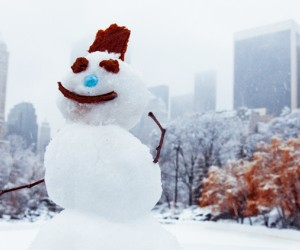 Winter fun for kids in New York City: Building a snowman is just the start of fun things to do with kids in NYC during winter