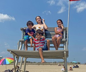 Hit the shores at one of our favorite NYC beaches, Jacob Riis, for summer 2021 fun. Photo by Sara Marentette