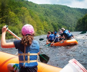 You'll enjoy 8 miles of FUN, splashing, paddling, and laughing at Jim Thorpe RIver Adventures!