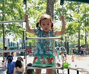 John Jay Park & Pool is the place to be with a preschooler - With impressive facilities, it is no surprise that it's packed with families year-round. Photo by Janet Bloom