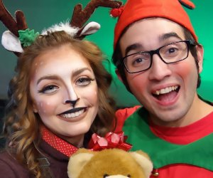 See if Barnaby, Santa's littlest elf, can save Christmas. Photo courtesy of Theatre Three